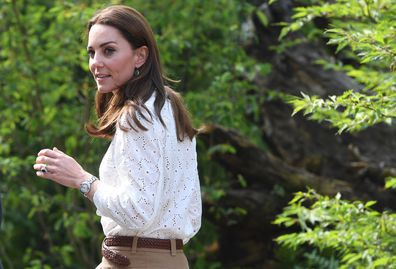 Kate Middleton's handwriting at Chelsea Flower Show