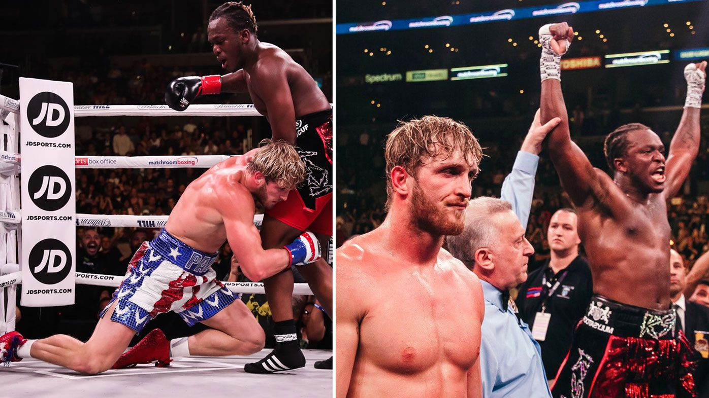 Logan Paul calls for KSI rematch after YouTube stars' controversial bout
