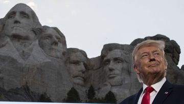 Donald Trump has said it would be a good idea for him to be added to Mount Rushmore.