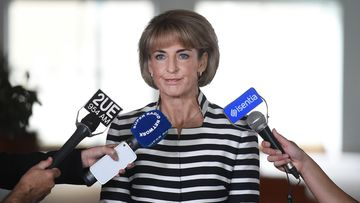 Minister for Women Michaelia Cash has announced the target for female representation across Australian government boards has been raised to 50%. (AAP)