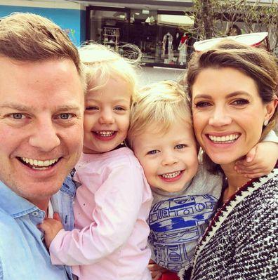 Ben Fordham with children