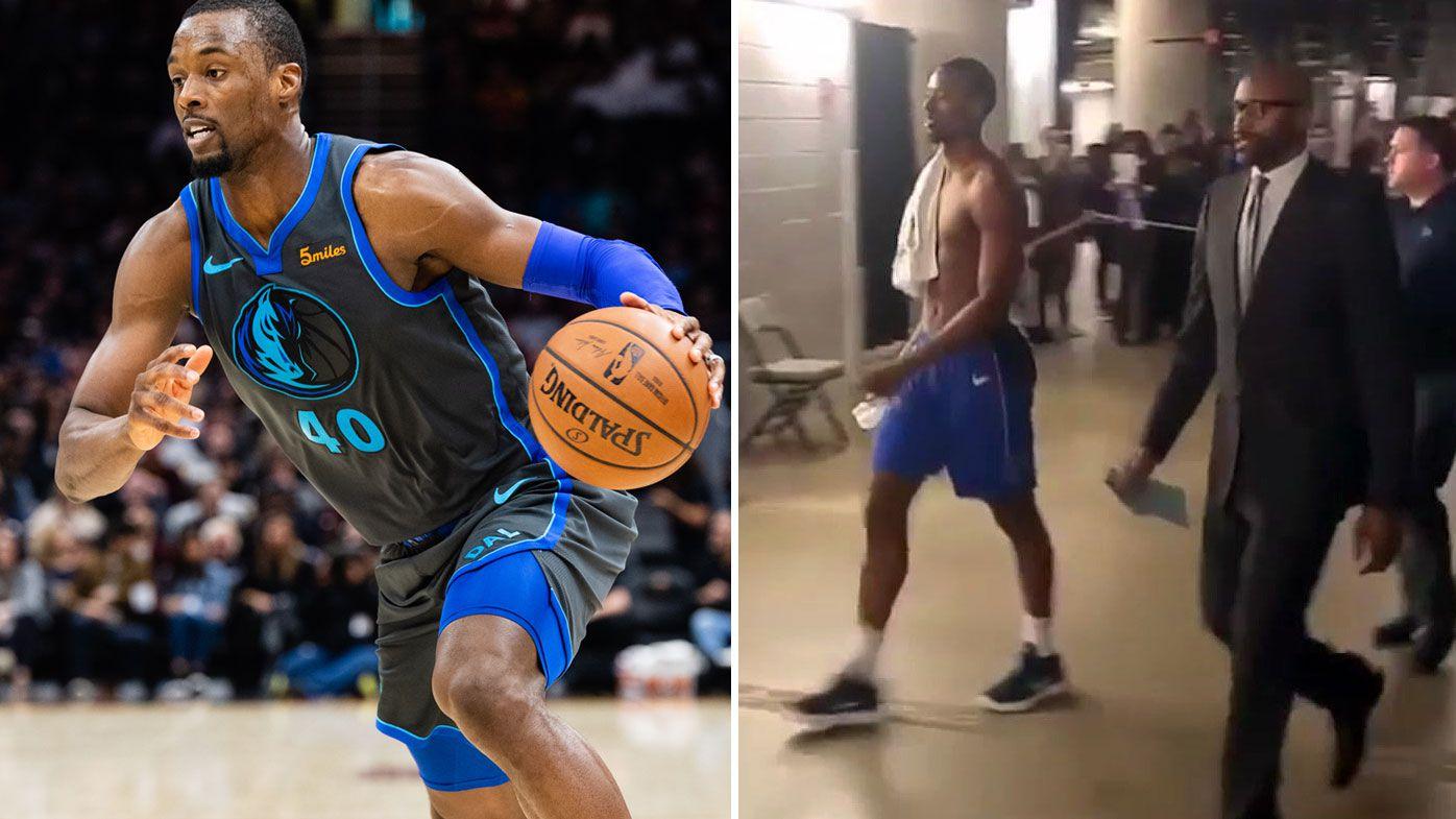 Barnes traded while on court for Mavericks
