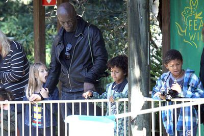 "<br/>TheFIX has the exclusive pics of Seal reuniting with his kids in Australia after time apart. Seal took his four kids, Leni, 9, Henry, 7, Johan, 6, and Lou, 3, to the Featherdale Wildlife Park in Sydney on Tuesday.<br/><br/><b><a target=""_blank"" href=""http://www.thevoice.com.au"">Click here for the latest <i>Voice</i> updates</a></b>"