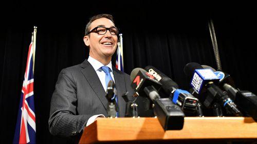 Steven Marshall has axed four senior department chief executives. (AAP)