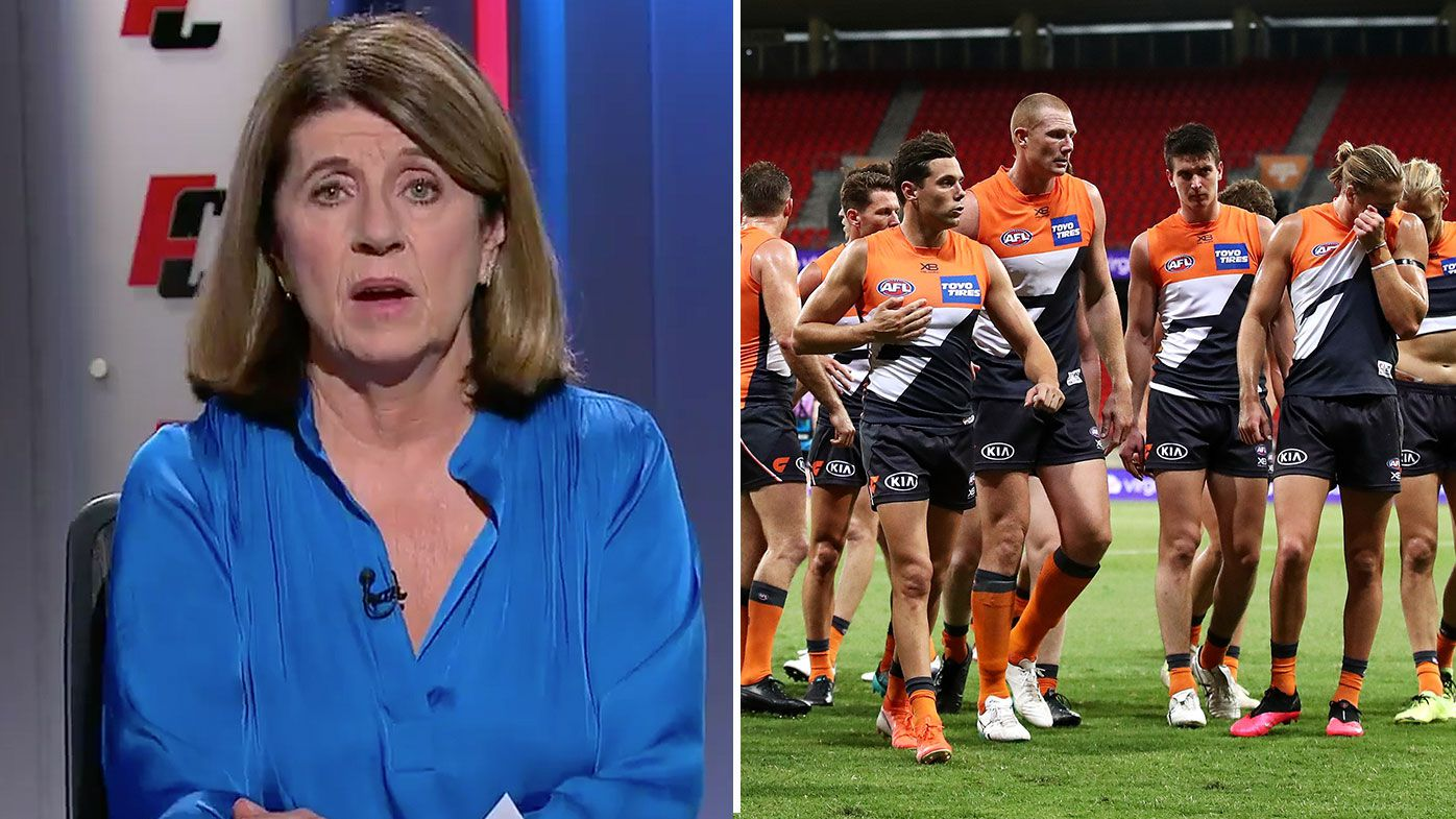 Footy Classified's Caroline Wilson hits out at private ownership model