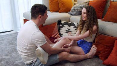Belinda and Patrick struggle with Intimacy Week
