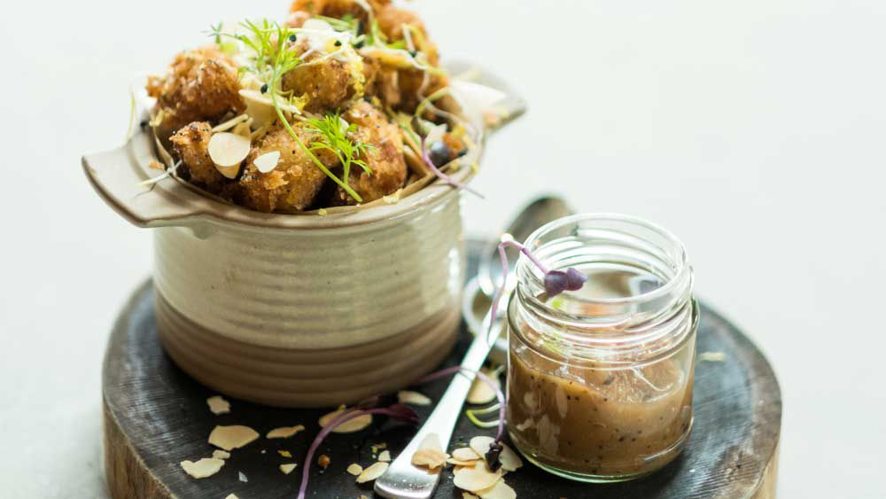 Acre's cauliflower with cumquat marmalade