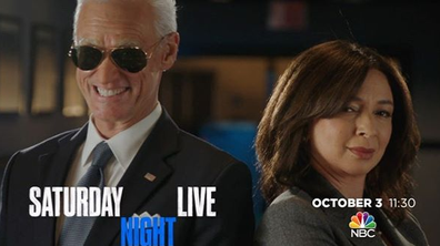 SNL introduce Joe Biden and Kamala Harris