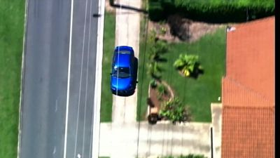 Police allege the chase began after three cajackings at gunpoint in Caboolture and Morayfield. (9NEWS)