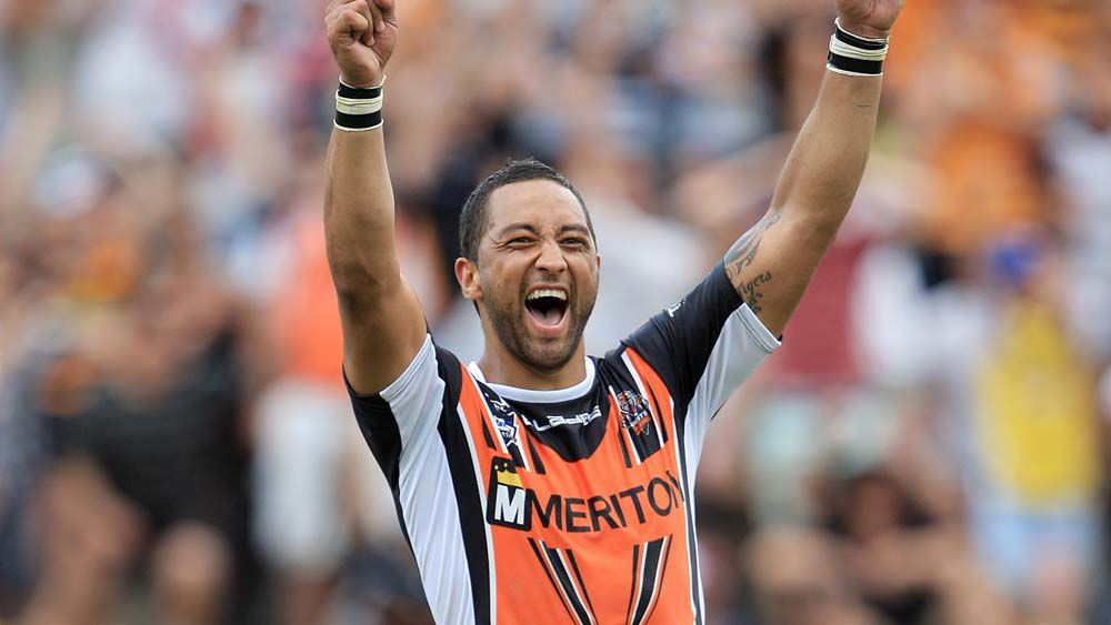 Benji Marshall signs with Wests Tigers for 2018 season