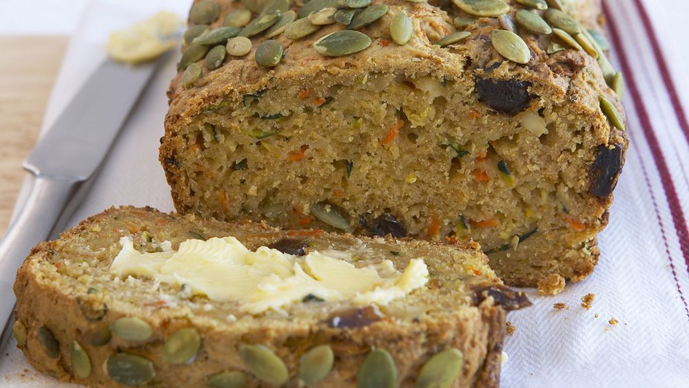 Zucchini and carrot loaf
