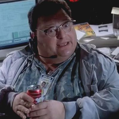 Wayne Knight as Dennis Nedry: Then