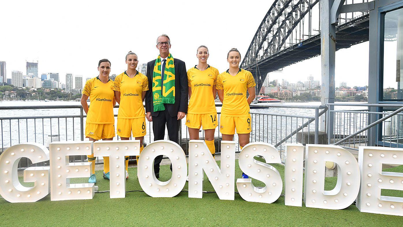 Matildas and FFA urge Australia to get behind Women's World Cup bid