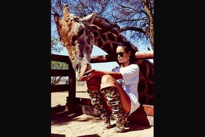 @badgalriri: Mama AfRIHca by @gomillionandleupold