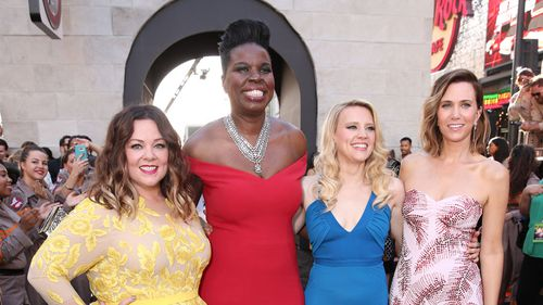 The stars of Ghostbusters. (Getty Images)