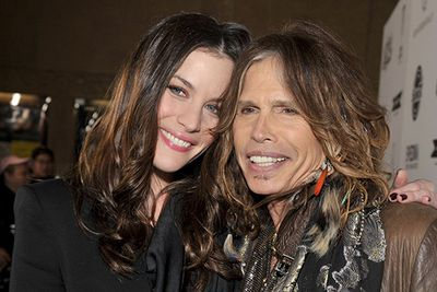It wasn't until she was eight that Liv Tyler discovered her father was Aerosmith front man, Steven Tyler. We're guessing mum, Bebe Buell, wasn't counting on her daughter growing into the spitting image of her father (that full-lipped smile is hard to deny). Dad and daughter have since developed a close relationship as well as a professional one, with Liv appearing in Aerosmith's music video 'Crazy' and Steven penning a number of songs for her blockbuster film <i>Armageddon</i>.