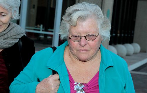 """The ex-wife of Leonard Warwick Andrea Blanchard has given evidence in court, describing him as """"controlling and violent"""". Picture: AAP"""