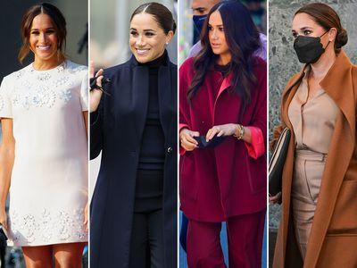 Meghan's New York trip wardrobe, September 2021