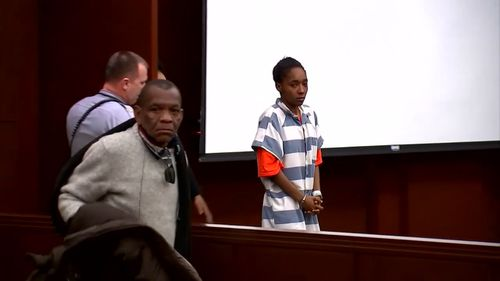 Brianna Ashanti Lofton, 20, had her first appearance in court today. (ABC America)