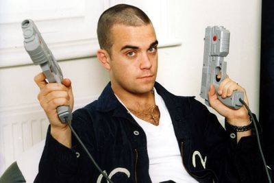 "Robbie Williams from Take That<br><br>International pop star and former Take That member Robbie Williams has openly spoken about his near death experiences while on addictive prescription pills. <br _tmplitem=""12""><br _tmplitem=""12"">He has also experimented with cocaine, acid and heroine."