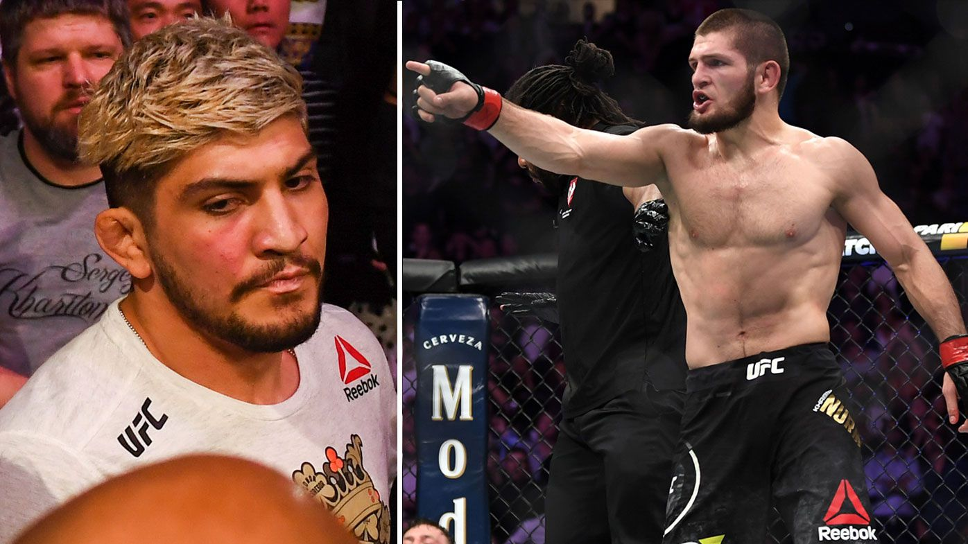 UFC 229: Dillon Danis strongly rejects claims he targeted Khabib Nurmagomedov with racial slur before all-in brawl