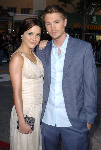 Sophia Bush and Chad Michael Murray in 2005.