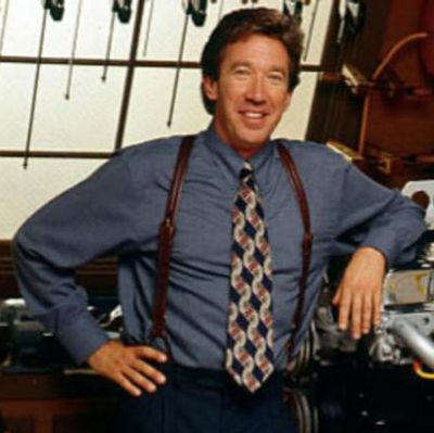 """Tim Allen as Tim """"The Tool Man"""" Taylor: Then"""