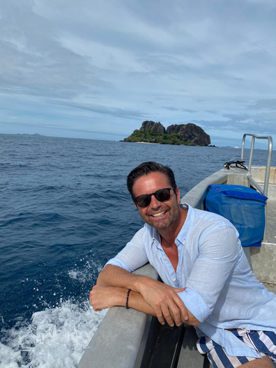Stevie Jacobs in Fiji