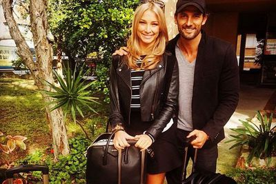 @mrtimrobards: All packed and ready to jet to the airport, #California here we come!! #thanksforlift @luckylegs1 @antlerluggageoz #tiber #goodtimes #USA