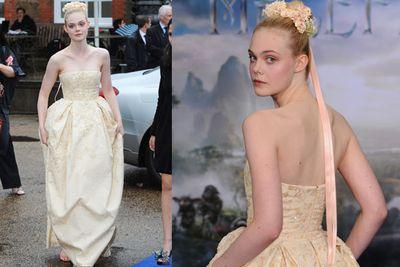 She really looks every bit the fairytale princess too!