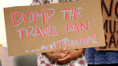 Second judge blocks Trump's travel ban
