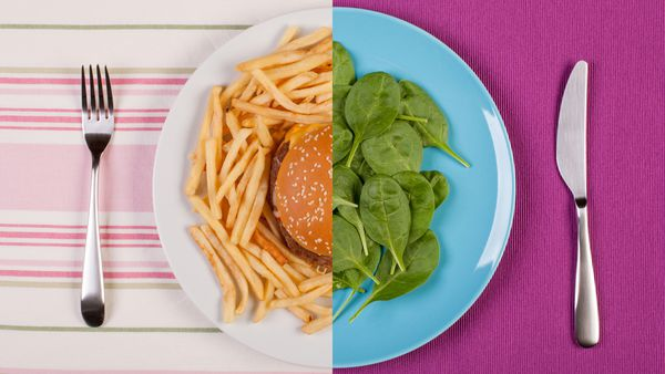 What's the difference between 1000 calories of healthy food