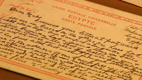 Letters between the young private and his mother were recently uncovered. (9NEWS)