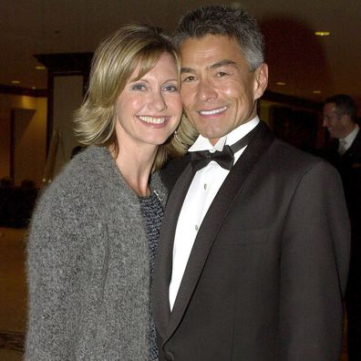 Olivia Newton-John and former boyfriend Patrick McDermott.
