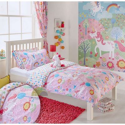"<a href=""http://fillyandco.com.au/product/flying-unicorn-bookends/"" target=""_blank"">Filly & Co Unicorn Little Big Cloud Doona, $79.99.</a>"