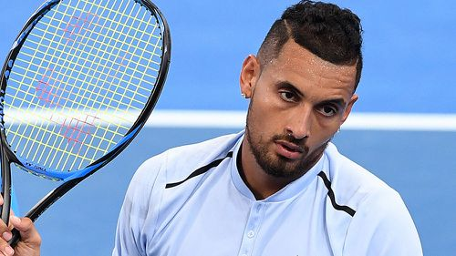 """""""Kyrgios is a beautiful enigma. The guy we loved to hate."""" (AAP)"""