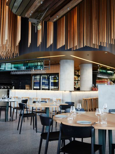 Cirrus restaurant in Barangaroo, Sydney