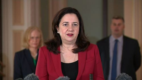 Queensland Premier Annastacia Palaszczuk confirmed a trainer from Queensland Corrective Services has tested positive to COVID-19.