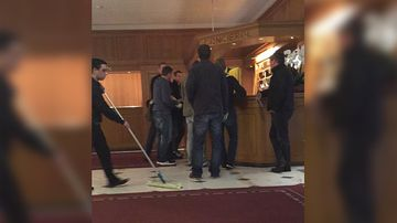 Police have arrested FIFA officials at a hotel in Switzerland. (9NEWS)