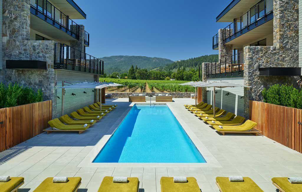 Las Alcobas Napa Valley pool