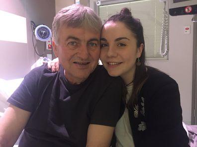 Ana Maria dad Laki cancer CanTeen during treatment