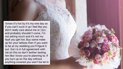 Bride demands guest changes appearance in searing text exchange: 'Your look doesn't work'