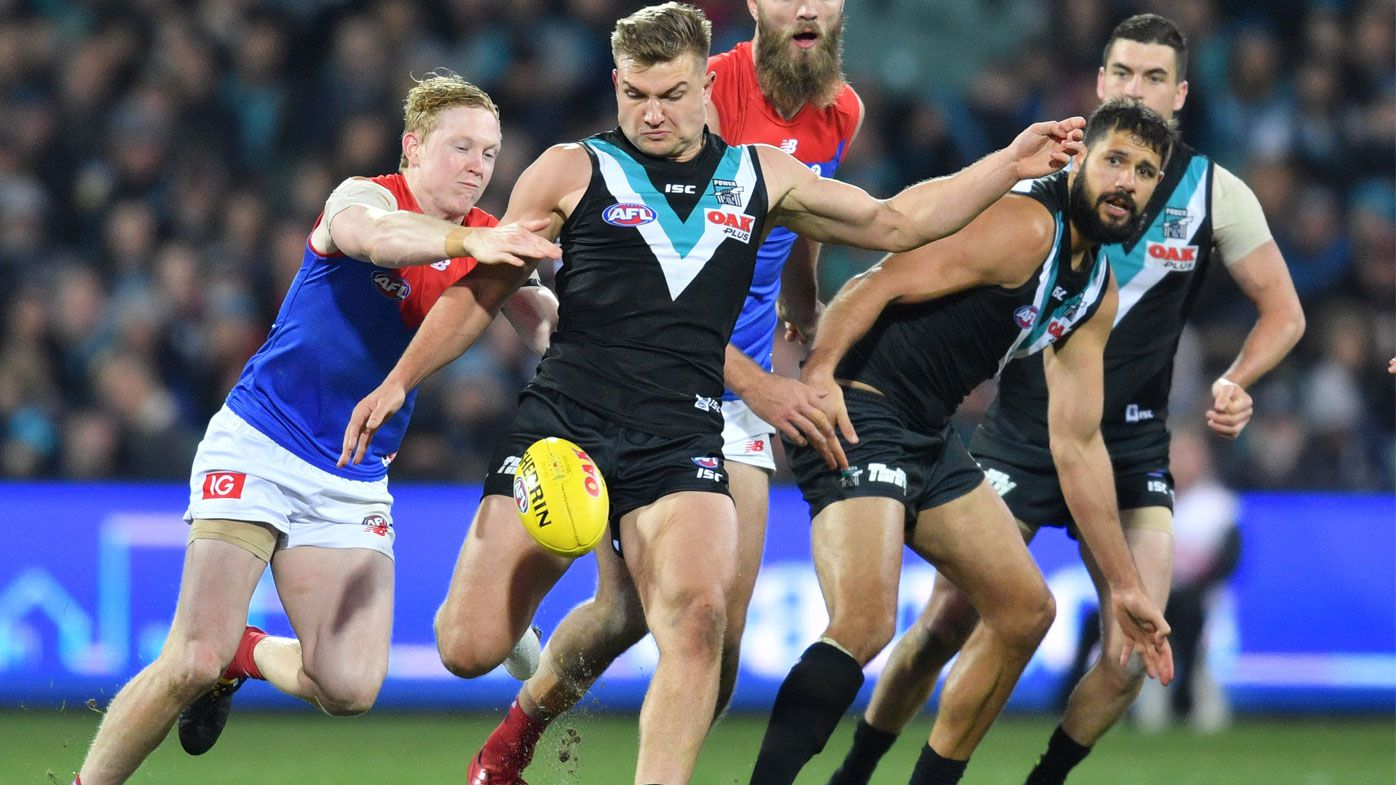 Port Adelaide Power leapfrog Melbourne Demons into AFL top four