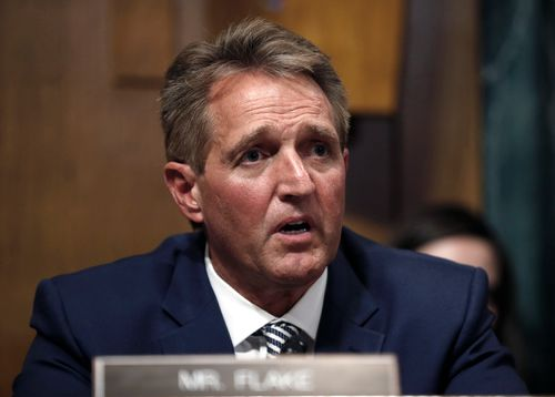The committee's decision came after agreeing to a late call from Republican Senator Jeff Flake of Arizona for a one-week investigation into sexual assault allegations against the high court nominee.