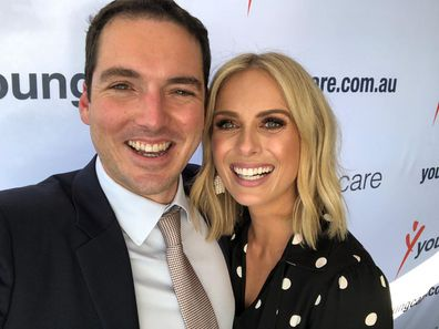 Peter Stefanovia and Sylvia Jeffreys