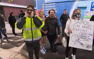 Gel blaster protesters determined to challenge 'firearm' ruling in South Australia