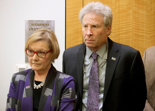 Andy and Barbara Parker, parents of slain journalist Alison Parker, want action taken against Facebook for failing to remove online footage of her shooting death.