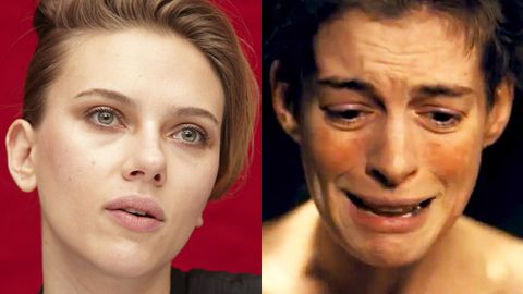 How Scarlett Johansson stuffed up <i>Les Mis</i> audition for Anne Hathaway's role