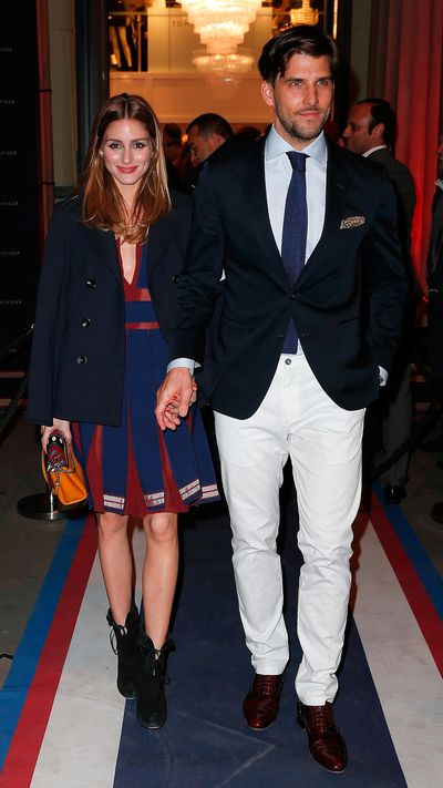 <p><strong>The society sweethearts<br>Olivia Palermo and Johannes Huebl</strong></p>