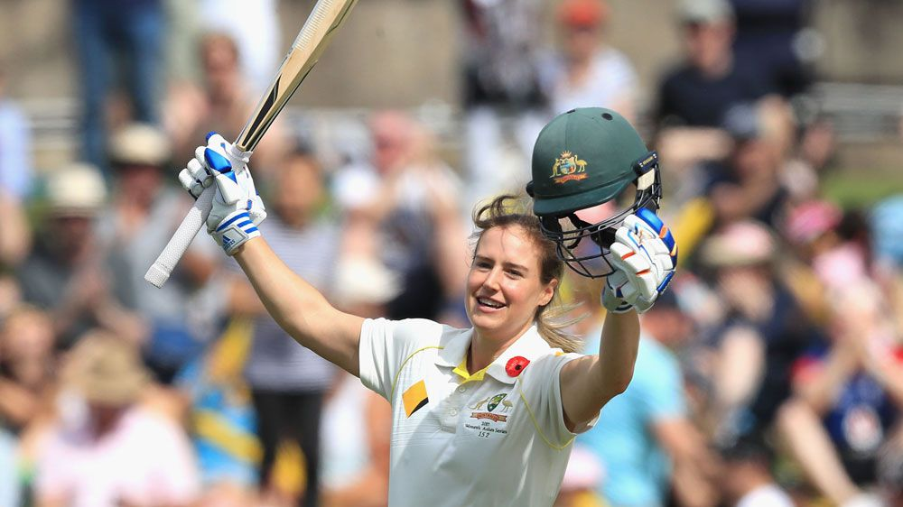Cricket: Ellyse Perry's Test double century record puts Aussies on top in Women's Ashes